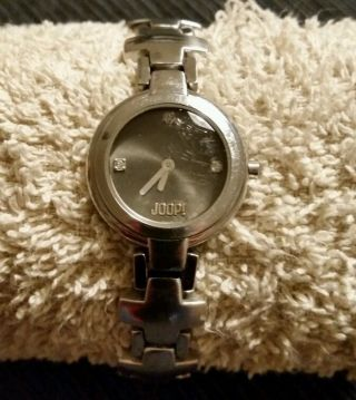 Joop Armbanduhr Silber (kreuz) Bild