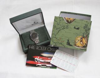 Rolex Oysterdate Precision 6694 Armbanduhr Edelstahl Herrenuhr Aus 1982 Bild