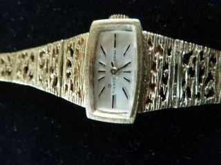 Damenarmbanduhr 585er Gold,  Fa.  Tissot Bild