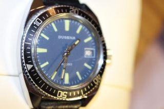 Dugena Sport - Vintage Diver - Handaufzug - Taucheruhr - Vintage - Rar Bild