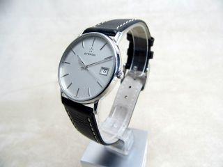 Eterna Herren Armbanduhr,  Quarz,  Datum,  Edelstahl Bild