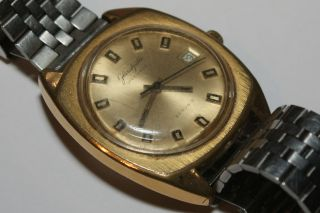 Glashütte Gub Spezimatic Herren Armbanduhr Ddr 1960 - 70 Seriennr.  345709 Bild