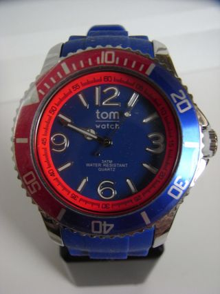 Tomwatch Basic Sport 44 Wa 00125 Blue Speed Uvp 49,  90€ Bild