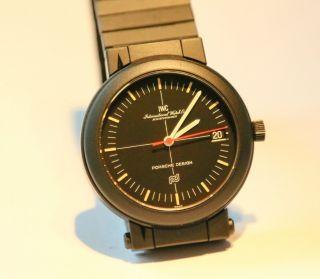Iwc Porsche Design Kompass Uhr Bild