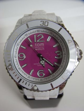 Tomwatch Basic White 44 Wa 00106 Deep Pink Uvp 49,  90€ Bild
