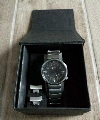 Mexx Time Herren Damen Uhr Edelstahl Mit Datumanzeige Bild