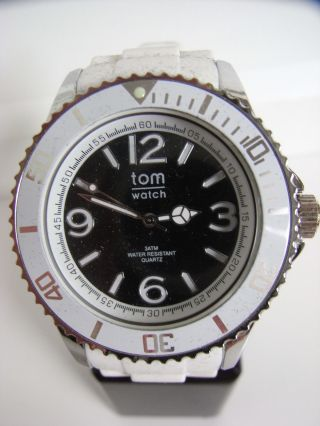 Tomwatch Basic White 44 Wa 00105 Black Uvp 49,  90€ Bild