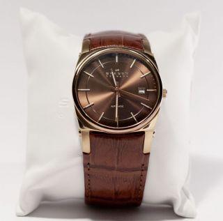 Sehr Schöne Herren Armbanduhr – Skagen Automatik – Modell 759lrldj Bild