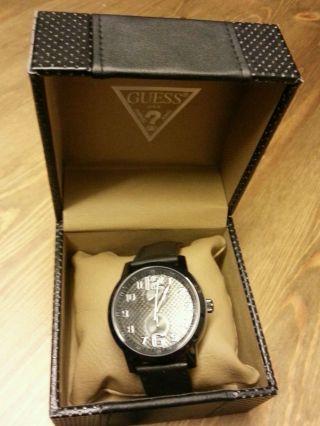Guess W95111g1 Herren - Armbanduhr,  All Black,  Geschenkbox,  Uvp159€ Bild
