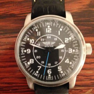 Poljot Aviator Fliger Uhr Bild