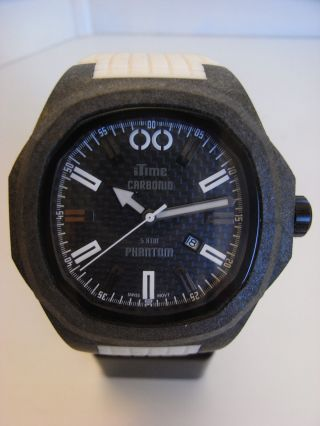 Itime Orologi Phantom Carbon Monocoque Gehäuse Ph4900 - C 02t Uvp 210€ Bild