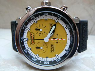 Formex 4 Speed Rs700 70011.  3080 Chronograph 10 Atm Taucheruhr Edelstahlgehäuse Bild