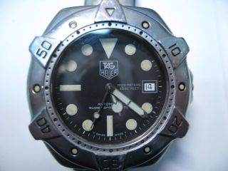 Tag Heuer Professional Deep Divers 1000m (3330 Feet) Bild