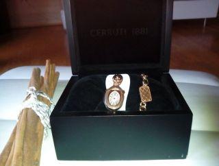 Cerruti 1881 Icone Deluxe Ct100212x04 Armbanduhr Für Damen Mit Etikett Bild