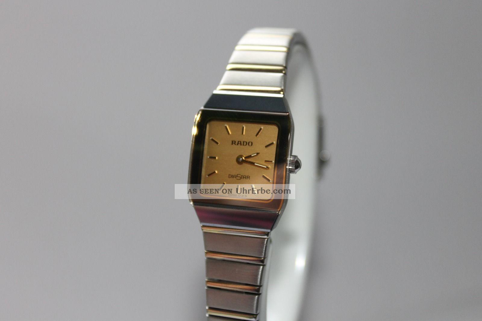 rado diastar damenuhr armbanduhr swiss made 204 0268 3. Black Bedroom Furniture Sets. Home Design Ideas
