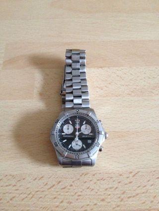 Tag Heuer F1taucher Chronograph Herren Uhr Sapphire Crystal Bild