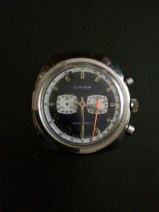 Sehr Sportlicher Cimier Chronograph Herrenarmbanduhr,  Handaufzug Bild
