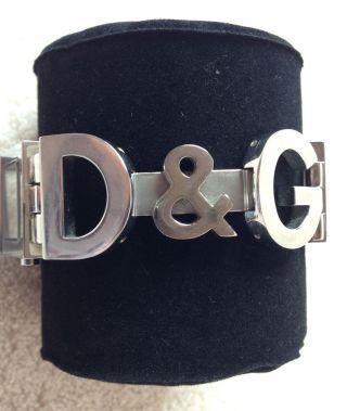 Damen Armbanduhr Uhr D&g Silber Bild