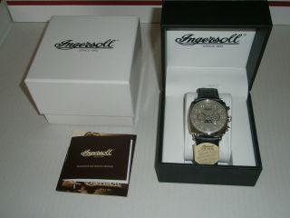 Ingersoll Corondo Armbanduhr Herren In1211sl,  Ovp Bild
