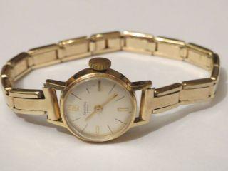 Edle Zentra Savoy Swiss Antik Damenuhr 50er Jahre Handaufzug Sammler 1a Geschenk Bild
