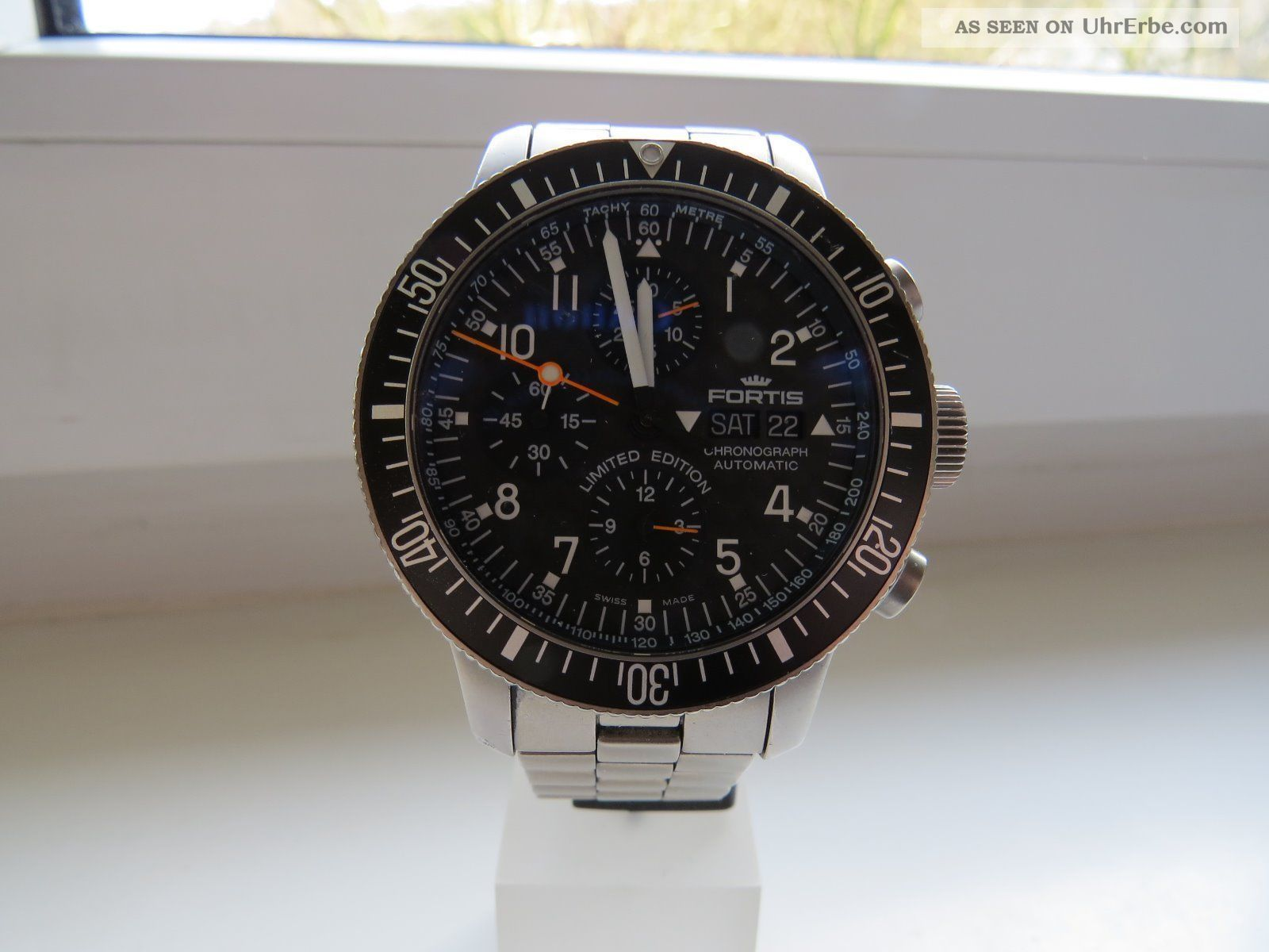 Fortis B 42 Titan Limitiert Auf 500 Hier Nr.  384 Armbanduhren Bild
