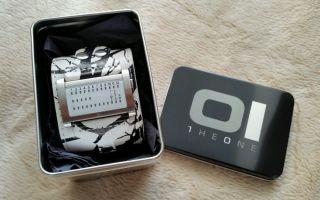 Originale Binary Oi - The One Ibiza Limited Uhr Led Inkl.  Box - - Bild
