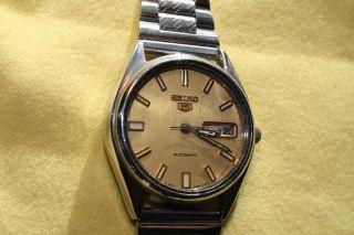 Uhrensammlung Aufloesung Hau Seiko 5 Automatic Vintage Bild
