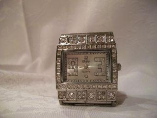 Uhr Armbanduhr Damen Buffalo Quartz Stainless Stell Back Water Resistent Bild