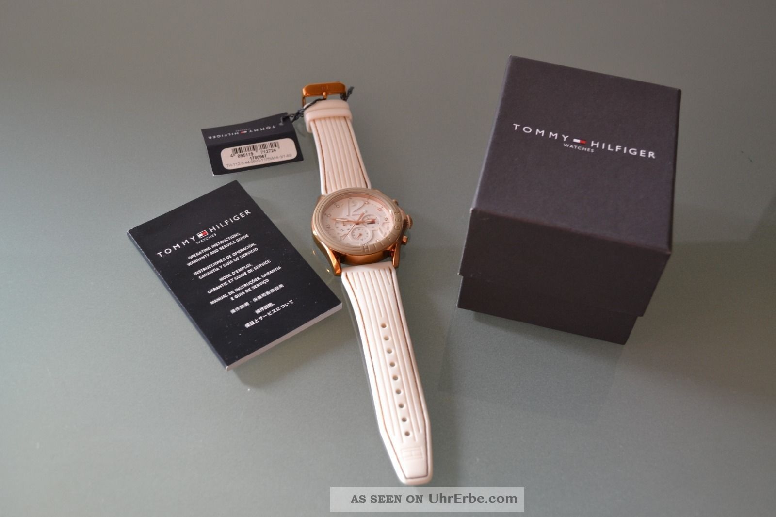 Tommy Hilfiger Watches Avalon 1780967 Zirkonia Steine Damenuhr Neuwert Armbanduhren Bild