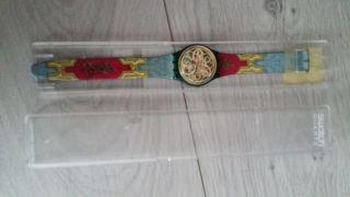 Paket Mit 4 Uhren (ice,  Swatch,  Bodyglove Und Benetton) Und Einer Kette (esprit) Bild