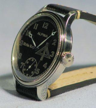 Alpina Armbanduhr 47mm Mariage Glasboden - Top Bild
