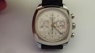 Tag Heuer Monza Re - Edition Calibre 17 Chronograph Cr 2111 Kroko - Faltschließe Bild