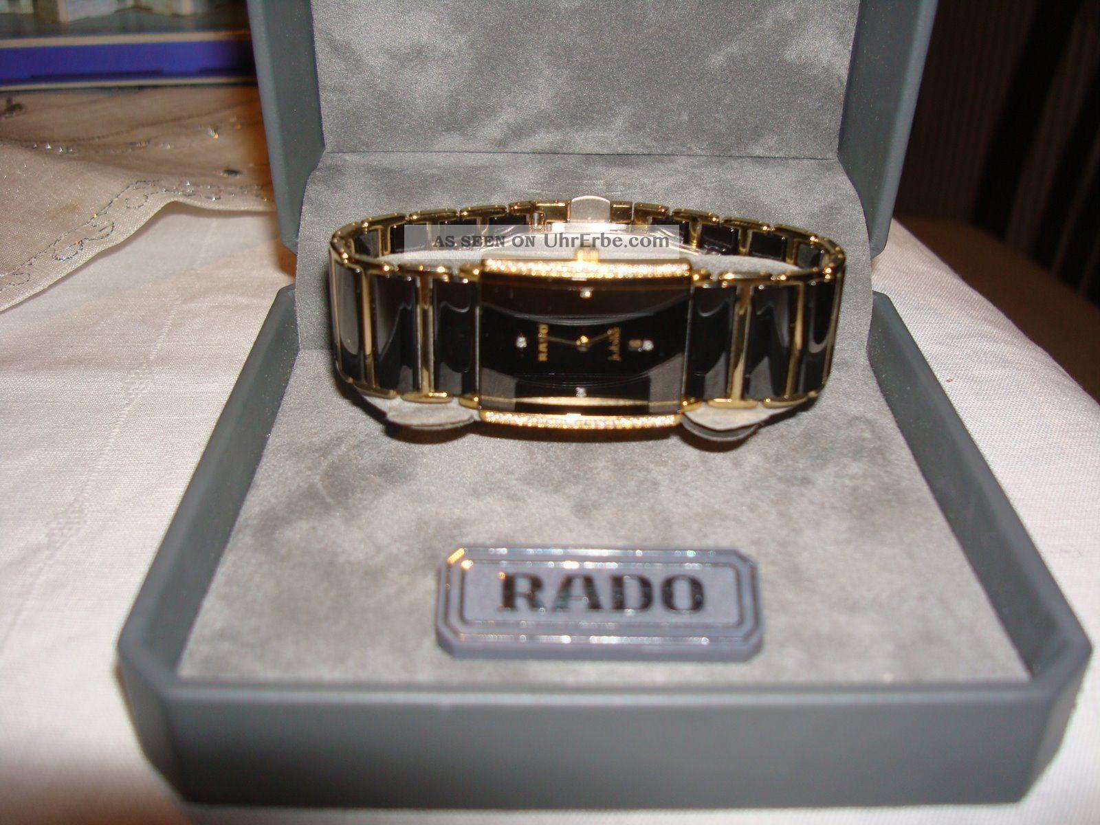 Rado Jubile Integral Ceramica Uhr Mit Diamanten Keramik Klassisch