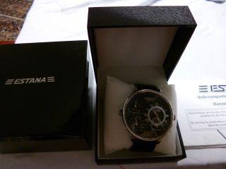 Xxxl Estana Morpheus Automatik Herrenuhr,  Aus Meiner Uhren Sammlung Bild