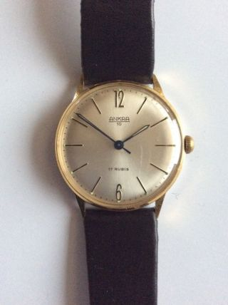 Ankra 10 Armbanduhr,  17 Rubis Bild