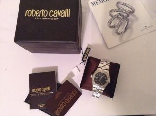 Roberto Cavalli Diamond Uhr Unisex Damenuhr Herrenuhr Made In Swiss Bild