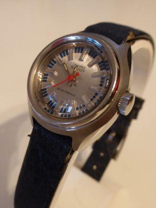Zentra Savoy Armbanduhr Electronic 1970 Bild