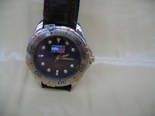 Tommy Hilfiger Armbanduhr Für Herren,  Alt Für Sammler Bild
