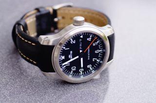 Fortis B - 42 Pilot Eta Cal.  2836 - 2 Ref.  645.  10.  11 L01 - Top - Ovp M.  Pap. Bild