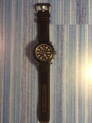 Timberland Uhr,  Outdoor,  Multifunktionsuhr,  Stahlgehäuse/ Mineralglas,  Hookset Bild