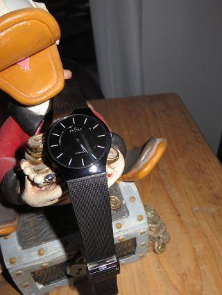 Skagen Herrenuhr 233ltmb Ultra Slim Dress Mesh - Armband - Als Weihnachtsgeschenk Bild