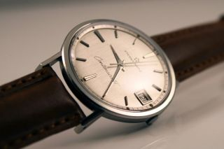 Eterna - Matic Centenaire 61 Automatic Uhr / Watch Top/mint Cal.  1438 U Bild