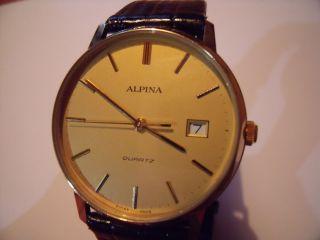 Alpina Armbanduhr Herrenarmbanduhr Wie Bild