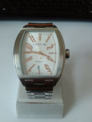 Cerruti 1881 Swiss Made Automatik Uhr,  Modell Ct60281x403031,  Eta 2824 - 2, Bild