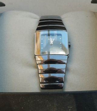 Rado Diastar Sintra Damenuhr High Tech Ceramics Bild