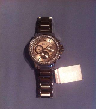 Dkny Armbanduhr Damen Silber Bild