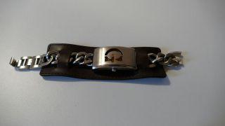 Guess Leder Armbanduhr Für Unisex Bild