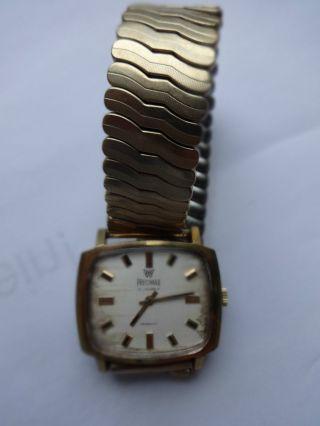 Precimax 17jewels 1960er Armabanduhr Herren Wristwatch Montre Bild