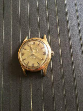 Vintage Dugena Precision Herrenarmbanduhr Handaufzug,  Cal 11½,  Funktioniert Bild