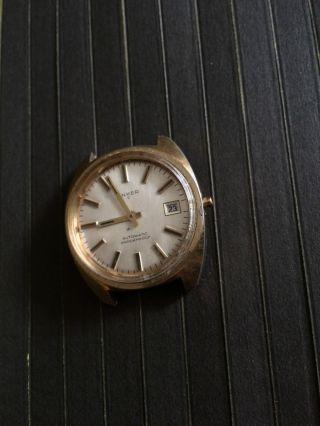 Elegante Vintage Anker C Herrenarmbanduhr Automatic,  Kal Int 7522/2,  21 Jewels Bild